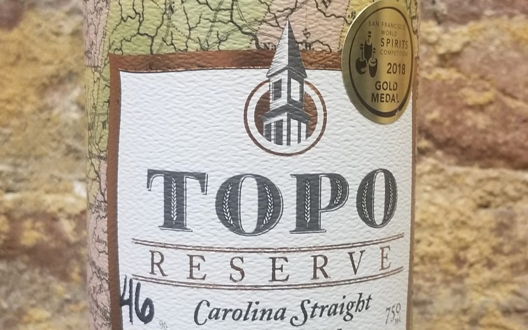 #19 – TOPO (Top of the Hill) Straight Wheat Whiskey from North Carolina