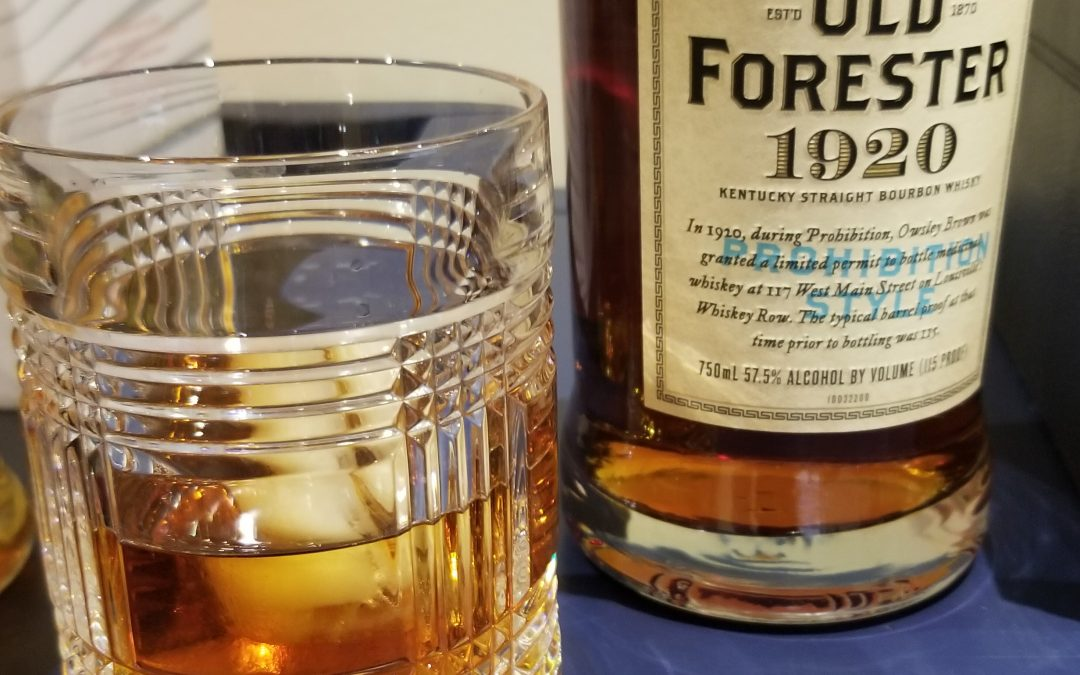 #30 – Old Forester Prohibition Style Bourbon with Justin Fenton