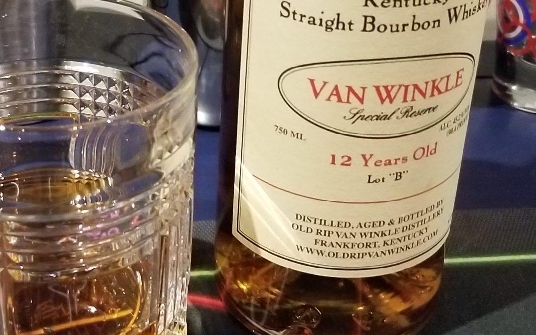 #48 – Old Rip Van Winkle – Lot b 12 year Bourbon