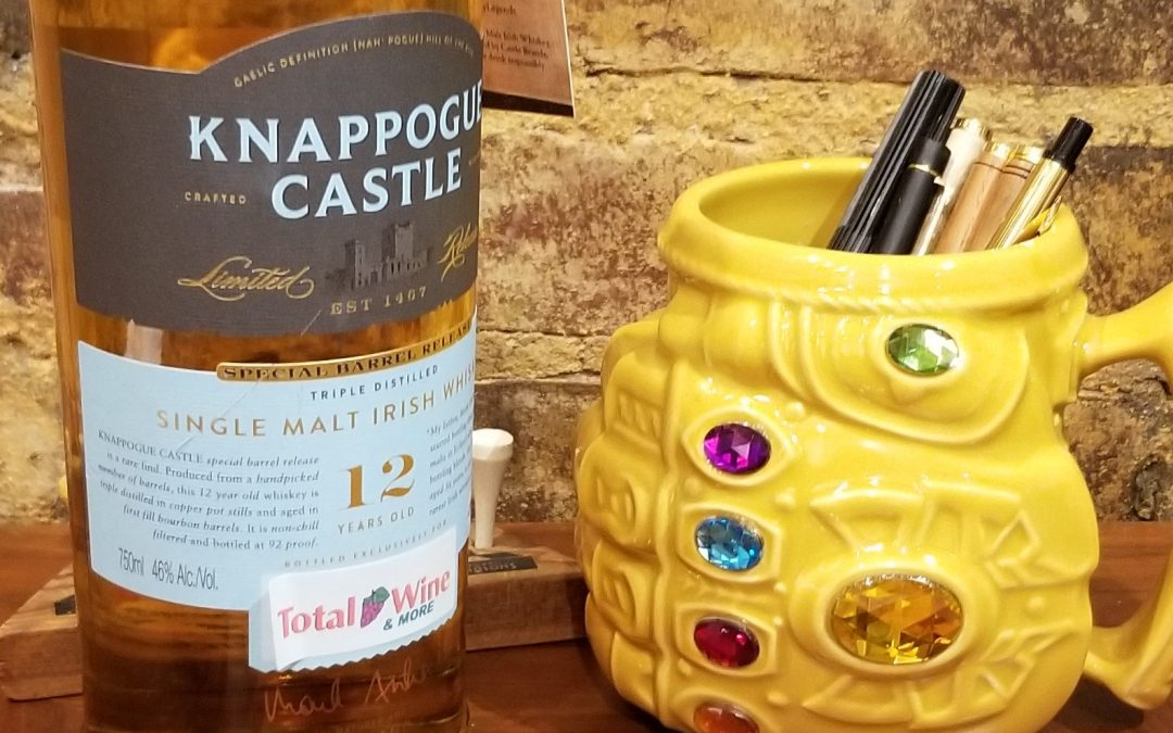 #60 – Knappogue Castle 12 year single malt Irish Whiskey